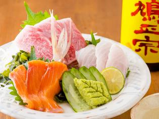 鮮魚店より届けられる新鮮な「海の幸」