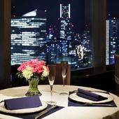 素晴らしい景色を眺めつつ、心に残る美味しいディナーに舌鼓