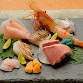 鮮度抜群の魚介を堪能『造里盛り合わせ』