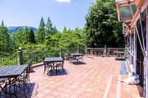 美しい景色とおいしい空気、おいしい料理がセットで楽しめる