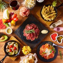 肉の王様がオススメするボリューム満点のコース!こだわり料理を存分にお楽しみいただけます!