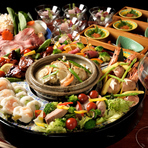 宴会を盛り上げる、150分飲み放題付きのコース料理をご用意