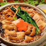 新鮮な野菜や豆腐に、肉厚のうなぎを使用した『うなぎのすき焼き』