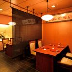 ホテル内にある和食料理店のため、様々なシーンでの利用が可能