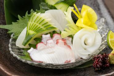 地元香川の海の幸が満載の『刺身』