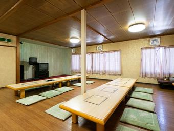 様々なシーンで使える、最大40名まで入れる宴会場も完備