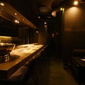 ワンランク上のおもてなしに相応しい、料理と空間