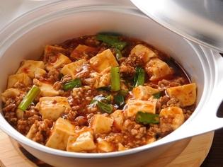 好評の逸品、麻婆豆腐