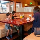 お子様連れのお客様やご家族のお食事にも人気です