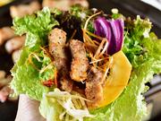 野菜そのままでも十分美味しい季節ごとに変わる旬野菜。色鮮やかで栄養たっぷりの珍しい野菜や西洋野菜もあり、見た目でも楽しめます。肉を巻いてたっぷり野菜を摂れます。※写真はイメージです