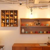 ほっこりと心が穏やかになるギャラリー&カフェ