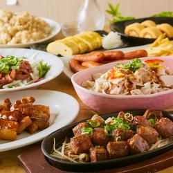【肉バルコース】肉好き必見!自家製ローストビーフユッケやひとくちステーキ、ソーセージなど肉三昧プラン