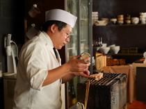 絶妙の塩梅で仕上げる「塩焼き」に、料理人の技をみる