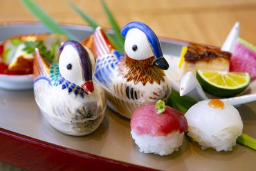 新鮮なままにゲストに供する、四季折々の魚たち『お造り』