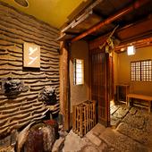 東京にいながら、季節の京料理と風情にひたれる愉しみをご提供