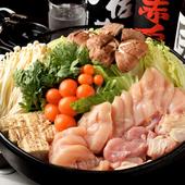 三河どりのおいしさが凝縮された『鶏すき焼鍋』