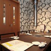 接待や会食、ご家族の祝い事などにぴったりの完全個室をご用意