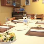 季節の皿に合うイタリアワインが充実。多彩な食後酒も楽しみ