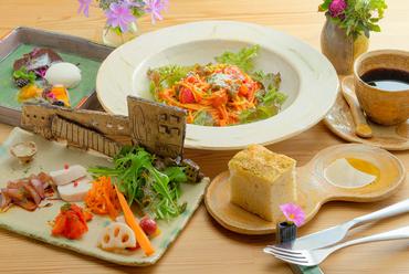 日替わりで3種類のパスタからチョイスできる『Pasta Lunch』