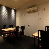 各種イベントから女子会まで、マルチに使える便利な半個室