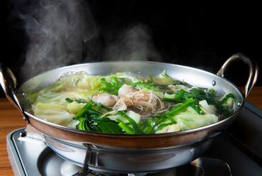 あっさりして食べやすく、ボリュームもたっぷりな『もつ鍋』