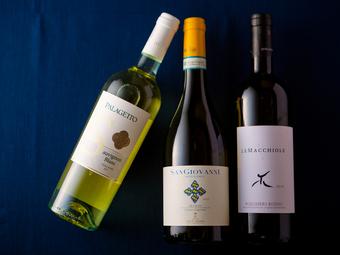 料理と楽しむ イタリア産ワイン