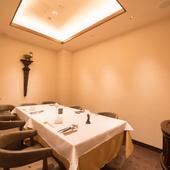 プライベート空間でゆったり過ごす、「くつろぎレストラン」