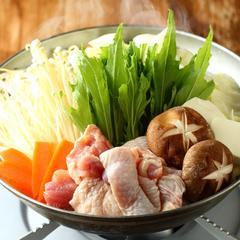 宴会人気NO.1!定番人気の水炊き or もつ鍋が選べるおすすめプラン!歓送迎会、下見、合コンなど各種宴会に