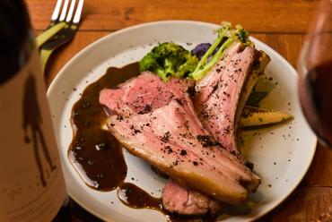 力強い味わいの『オーストラリア産仔羊ロースト オリーブ風味』