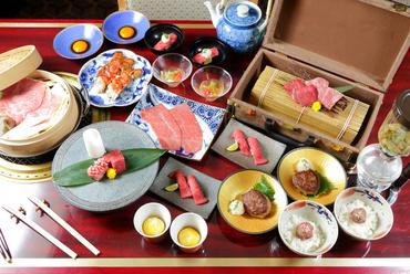 リーズナブルな価格で「神戸ビーフ」が気軽に食べられる『神戸牛の特選五種五枚盛り合わせ』