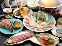 飲み放題、美味しいお料理7品付きのゆったり3時間の宴会コース。