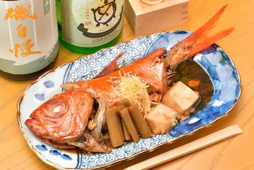 どこか懐かしい、優しい味わい『金目鯛の煮付け』