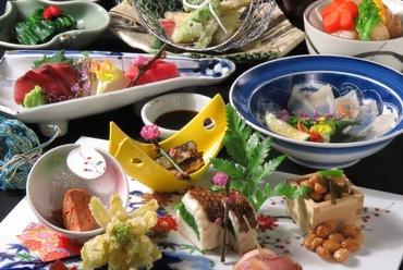 新感覚の料理も楽しみ! 月替わり葵会席『5,500円コース』