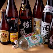 九州では珍しい、『キンミヤ焼酎』をはじめ、東京下町で愛されているお酒、『田酒』『新政』など東北の地酒を取り揃え。やきとんとともに味わって下町気分を満喫できます。