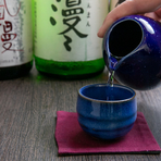 日本酒は焼酎ほどの種類はありませんが、店主こだわりの品が揃っています。今後も、全国の銘酒を少しずつ揃えていきたいとのこと。やはり、料理に合わせた提案も可能です。