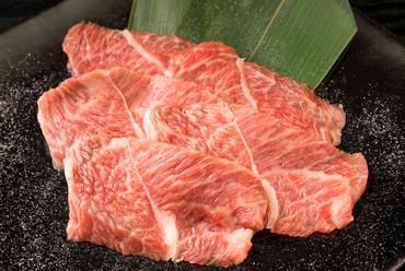 脂があっさりして上質な味わい『和牛霜降りミスジ』