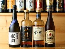 北海道産に日本酒やウイスキーなどもラインナップ