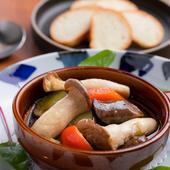 熊本のジビエソーセージと福岡の野菜をたっぷり使った『ジビエ・アヒージョ』