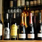 『シャンパン・赤ワイン』