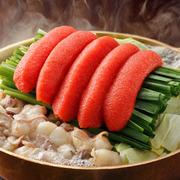 5種類の味から選べる、国産牛小腸を使った『もつ鍋』