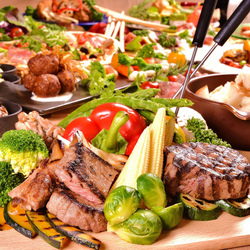 2時間飲み放題付!!大好評鹿児島県産黒豚レタスしゃぶしゃぶの食べ放題コースをご用意致しました♪