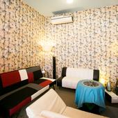 プライベート空間も確保できる。それぞれに独立した部屋も提供