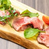 柔らかジューシーで新食感、手づくりの『牛タンローストビーフ』