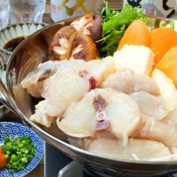 選べるお味北海まだらの贅沢親子鍋と天ぷらコース 濃厚豆乳だし