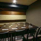 """2軒目へもスムーズに。""""上級者のもてなし""""が叶う、和食料理店"""