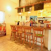 ふらっと立ち寄りやすい気軽さが魅力のカフェレストラン