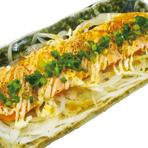 炙りマヨのサーモンカルパッチョ