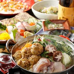 牛当店自慢の「牛タンしゃぶしゃぶ」をメインにお料理10品の贅沢な宴会コース!