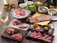お手頃価格にてあがり自慢の肉をお楽しみ頂ける梅コース!