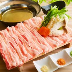 全72種の食べ飲み放題♪メインは「豚しゃぶ」です!ヘルシーで食べやすくて美味しい豚しゃぶが食べ放題♪